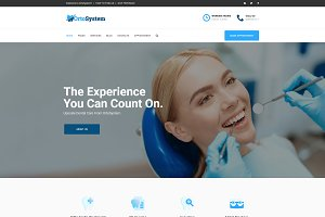 OrtoSystem - Dentist WordPress Theme