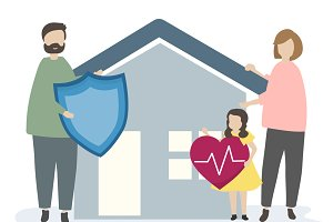 Family home insurance & security