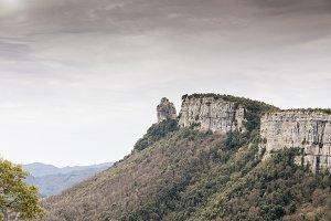 Mountain cliffs