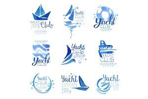 Yacht club since 1969 logo original