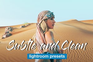 Subtle and Clean Lightroom Presets