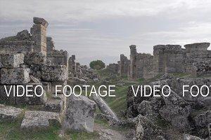 Ruins of Hierapolis in Pamukkale