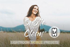 Subtle & Clean Lightroom Mobile