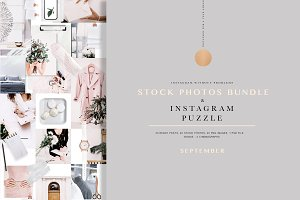 PHOTOS & PUZZLE. SEPTEMBER.