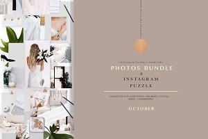 PHOTOS & PUZZLE. OCTOBER.