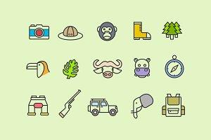 15 Jungle Icons