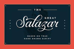 Salazar - Lettering Script