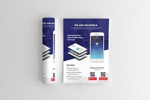 Mobile App Flyer