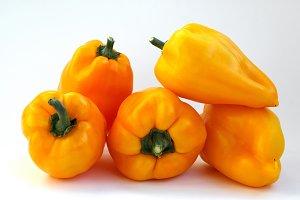 Pepper bell fresh and sweet orange c