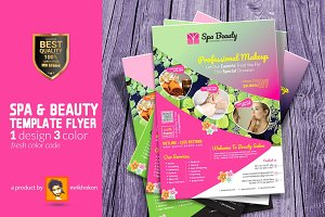 Spa Flyer Beauty Flyer