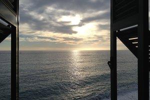 Window onto the Sea