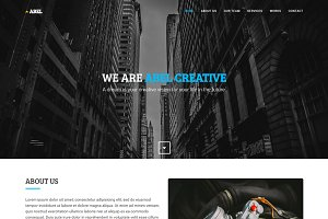 Abel - Agency & Portfolio Template