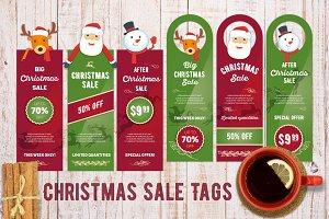 Christmas sale card template