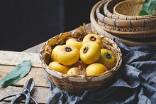 Gold apple fruits by  in Food & Drink