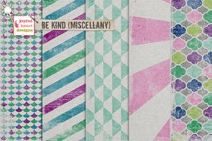 Be Kind {miscellany}