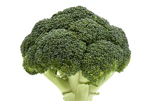 Broccoli. Healthy deep green vegetab