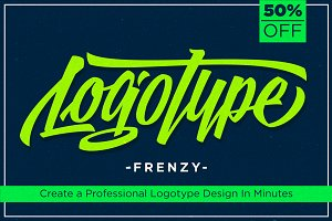 Logotype Frenzy 50% Off