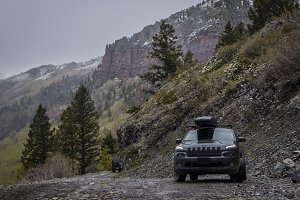 JEEP® CHEROKEE in Mountains