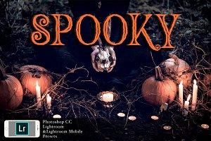 PS+LR-Spooky Presets