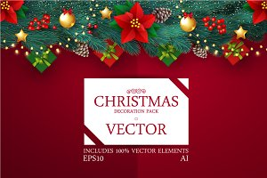 Christmas Vector Pack.