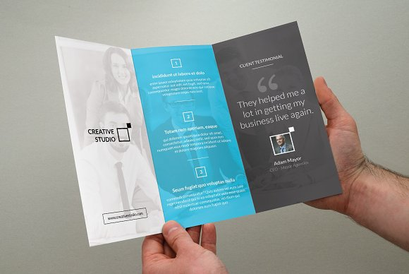 corporate trifold business brochure brochure templates creative