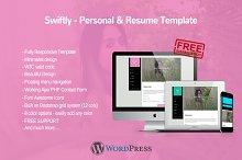 Swiftly - Personal Wordpress Theme