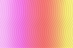 Colorful striped. Wavy shape, optica