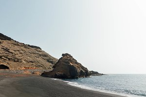 Beautiful Seashore in Spain