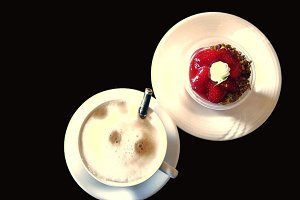 Coffee Cup Drink Delicious Cake
