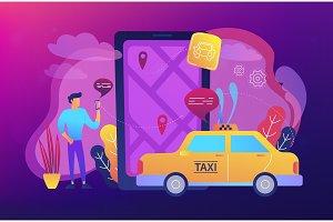 City navigation apps, smart city