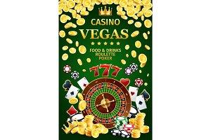 Casino online poster gambling