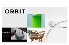 Orbit Premium PowerPoint Template by  in Presentations