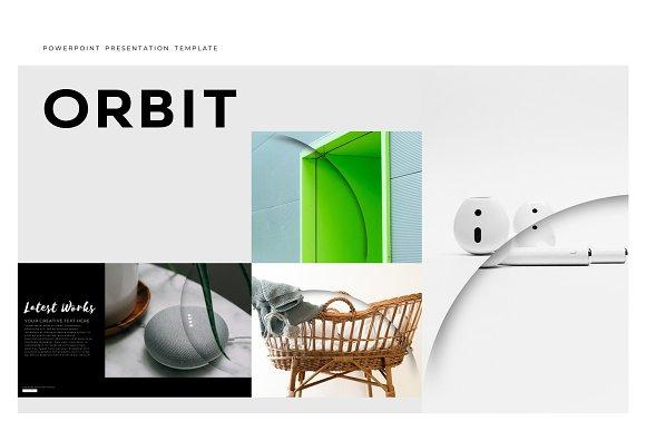 orbit premium powerpoint template presentation templates