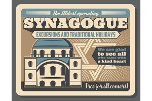 Jewish religious synagogue
