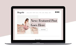 Squarespace Template: Blogette