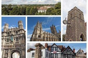 Canterbury landmarks set
