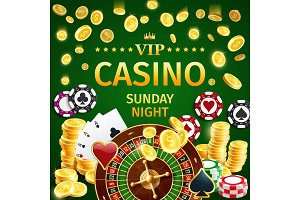 Online casino roulette and poker