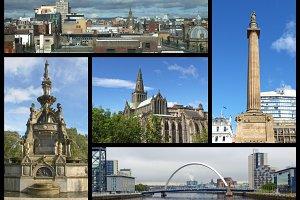 Glasgow landmarks set
