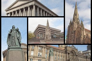 Birmingham landmarks set