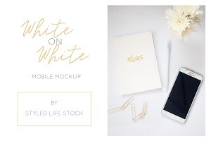Styled White on White #Goals