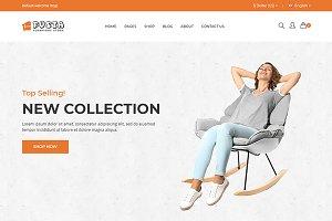 Fusta - Furniture eCommerce Template