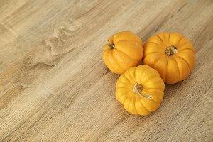 Bright yellow and orange color ripe