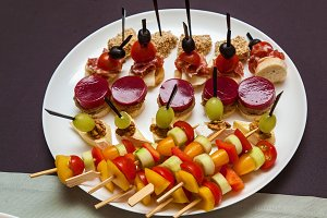 catering food for holidays and event