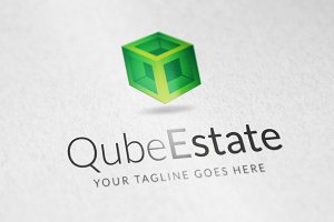 Qube Estate logo