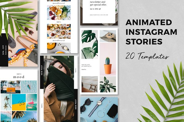 Social Media Templates: Bervisual - Noesa ‒ Animated Instagram Stories