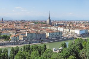 Wide Turin view