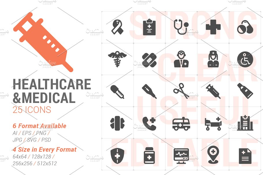 Healthcare & Medical Filled Icon