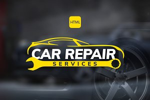 Car Repair Service - HTML Template