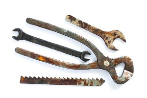 Vintage hardware equipment tools