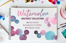 WATERCOLOR abstract collection